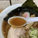 駅そば大宮 - スープ