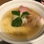 153886015 - このスープはすごいわ。めちゃんこ旨味つよいのに、澄んでんだもん。