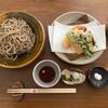 あんばい - 料理写真:田舎そばと季節の天ぷら。ランチ限定メニューです✩.*˚
