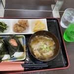 Enmusubi - 定食風おにぎりセット計1040円