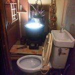 はなせ - なんか豪華なトイレ・・・(^^;