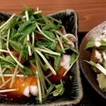 魚 野菜 酒 しゃばらむ - 豚の冷しゃぶ