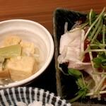魚 野菜 酒 しゃばらむ - 煮とうふ