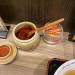 153914573 - 餃子用の辛味噌ダレ(ラーメン等にも合いそうです。)