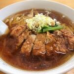 味の新宮 - 料理写真:パーコー麺
