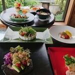 杉幸園 - 料理写真:6月の月替りコース 税込3500円