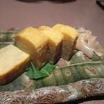 春秋 - 寿司屋さんの玉子焼き