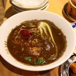焼売酒場 マッコイ - 黒担々麺(680円)