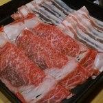西新初喜 - 錦雲豚と黒毛和牛