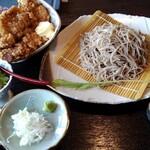 名物石挽十割そば ものぐさ太郎 - 料理写真: