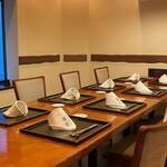 旬味食彩 佳乃 - 特別室はコース料理のご予約のみ。
