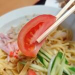 秀味軒 - 【2021.7.1(木)】中華冷麺のトマト