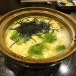 活魚・鍋料理 風車 - 8-3 最後は雑炊で