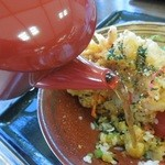 車山高原スカイプラザ - みそ天丼のお茶漬け