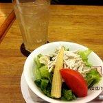 モンシェリー - Cセットのサラダ&ドリンク