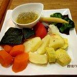 モンシェリー - 季節野菜のバーニャカウダ