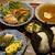 美味むすび uma - 料理写真:UMAUMAセット 800円+生柚子明太子、焼き鱈子ネギ 150円