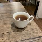ナポリタン&ミートソース専門店 ちゃっぷまん - コンソメスープ