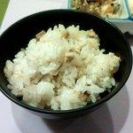 一福 - 松茸の炊き込み