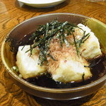 なべ駒 - 揚げ出し豆腐