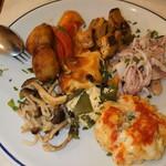 チーロ - 前菜の盛り合わせ