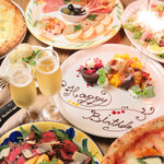 DUMBO PIZZA FACTORY  - The Special Day 3500円コース