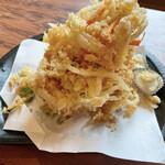 味くらべ - 料理写真:生桜海老かき揚げ