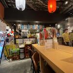 ハラミ再生酒場 肉のコバヤシ - オープンな空間に威勢の良い声が響き渡る