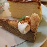 まとい亭 - コーヒーとクッキーのチーズケーキ