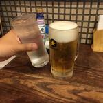 鳥兄弟 - 生ビール