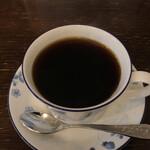 自家焙煎珈琲ブリュッケ - ドリンク写真:202107  インドネシア(マンデリン タノバタック)