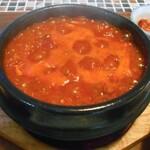 コッテジ - 豆腐チゲ(激辛)