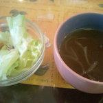 Complice - サラダとスープ