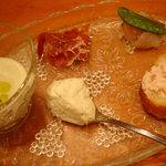 Naga~n cucina italiana - 前菜5種盛り