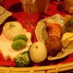 蔵屋敷 LUNA 交野屋 - 前菜アップ