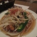 バンセーン アロイチンチン - パットアゴオー(揚げ豆腐入り野菜炒め)