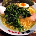 壱八家 - 料理写真:らーめん(ほうれん草トッピング)