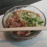 今庄そば - 料理写真:天ぷらそば(冷)