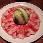中華料理 華宴 - 豚バラニンニクソース2012,10