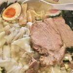はらっぱ - 料理写真:塩ワンタン麺