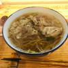 そば乃井 - 料理写真:黒豚そば1100円