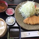 とんかつ 芳 - 料理写真:ロースかつ定食(和風)