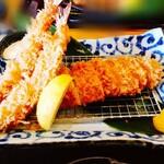 やわらかとんかつ かつ玄 - 料理写真:海老ロースかつ