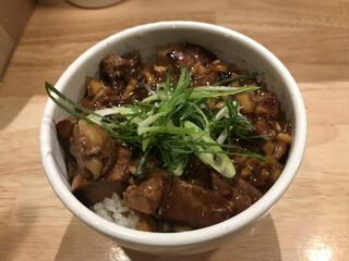 麺屋 K - チャーシュー丼