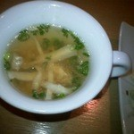 RESTAURANT SHIMIZU - スープです