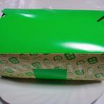 ビッグオーブン・チキンアサヒ - ロティサリーチキンの箱 なぜ両国茶屋の箱 (''?