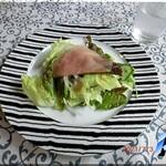 にんじん木 - 料理写真:ランチセットサラダ