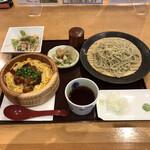 越後長岡 小嶋屋 - 料理写真:うなちちらし丼セット(税込み1683円)