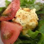 炭焼き定食や 台所や - 玉子サラダ