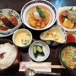 唐や - ランチ「唐や御膳」 1320円(税込)